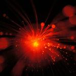 Cabo submarino de fibra óptica