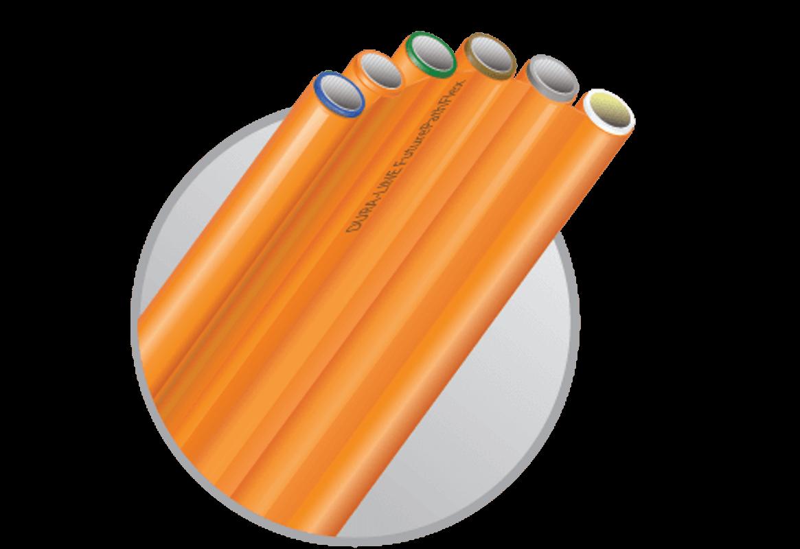 A Dura-Line fornece uma ampla linha de dutos e microdutos para a acomodação de cabos de fibra óptica.