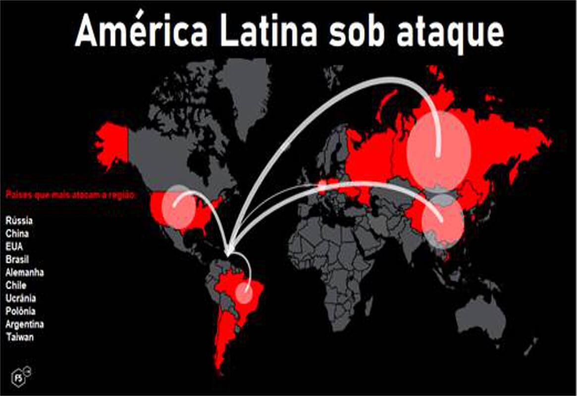 ataques globais de ransomware