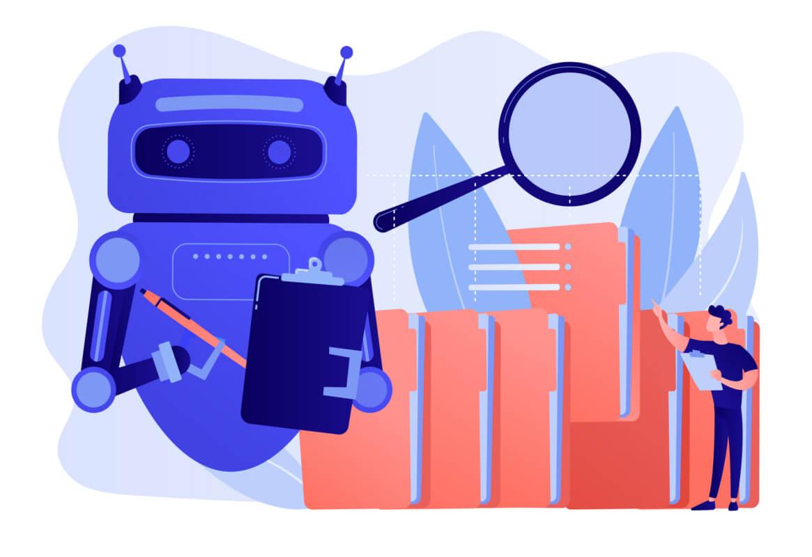 automação de processos com robôs