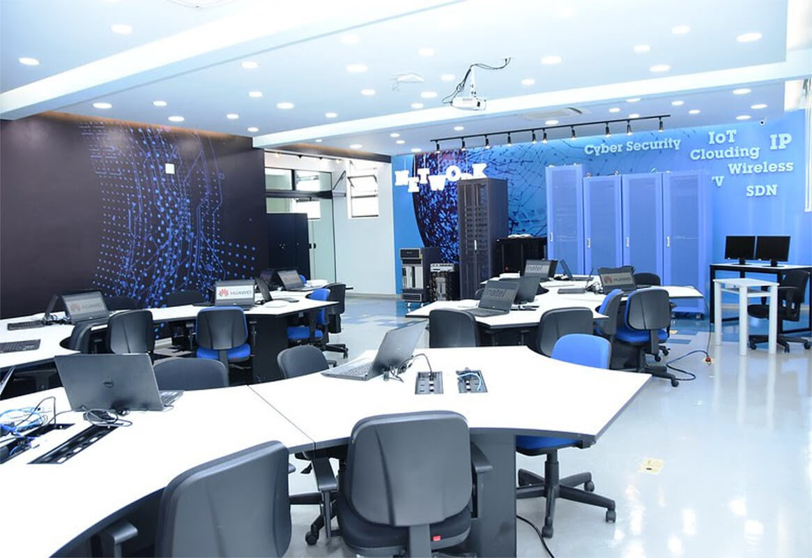 centro de segurança cibernética