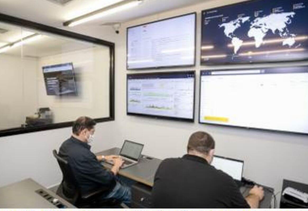 centro de defesa cibernética
